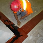 control joint repair by Algoma Contractors Hamilton and Stoney Creek