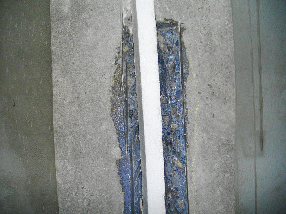 expansion joint repair by Algoma Contractors Hamilton and Stoney Creek